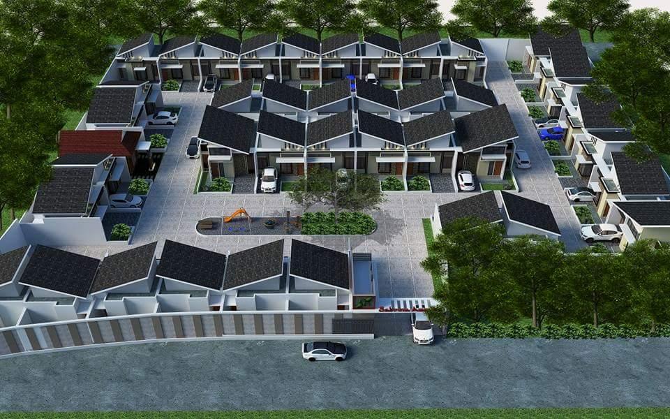 site plan rumah syariah