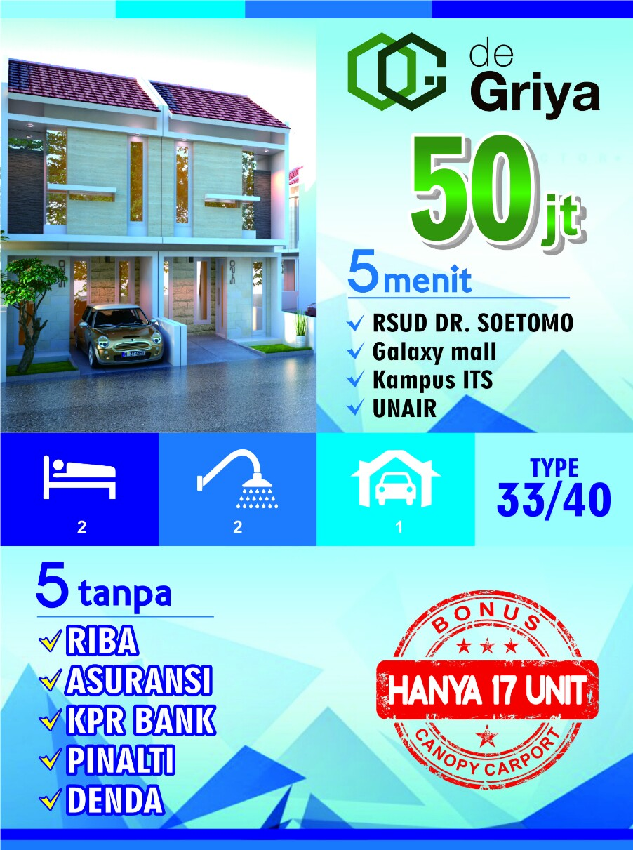 rumah surabaya murah