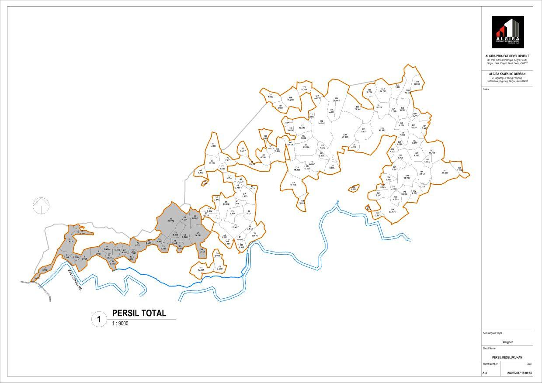 site plan kampung bogor