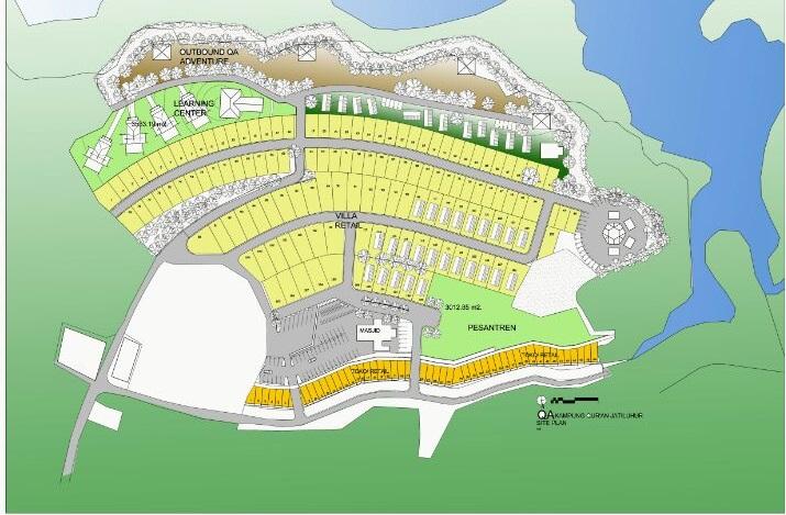 siteplan kampung tahfidz