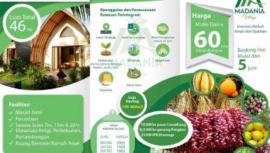 brosur madania properti syariah
