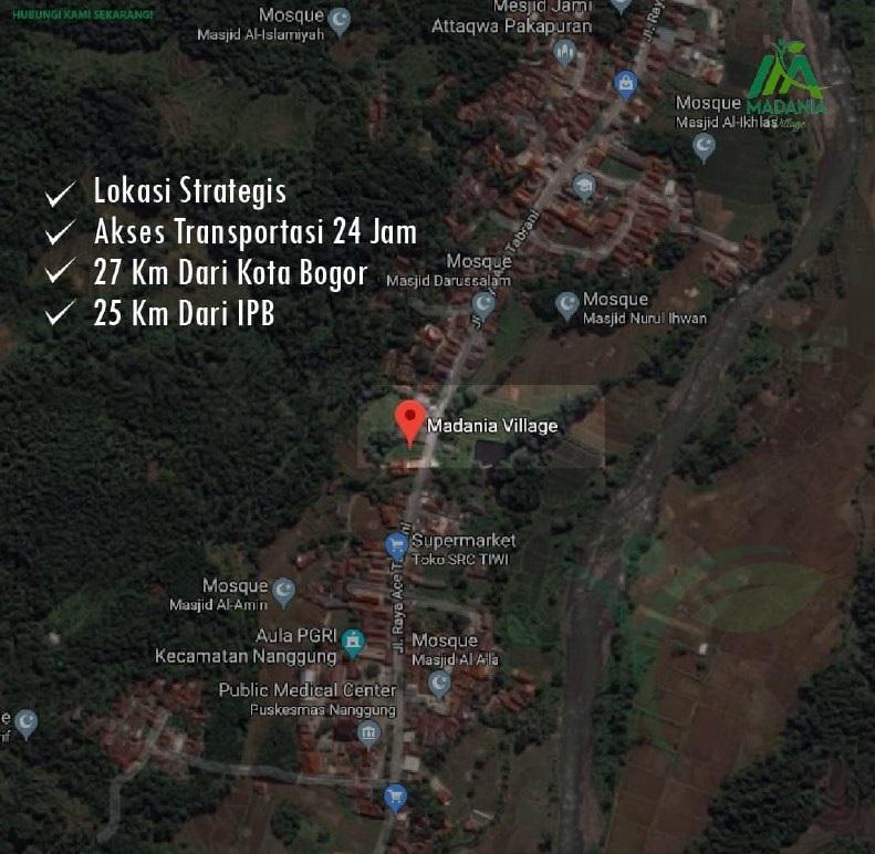 lokasi properti syariah madania
