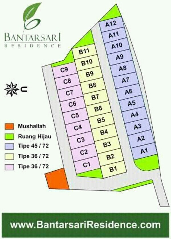 site plan bantasari