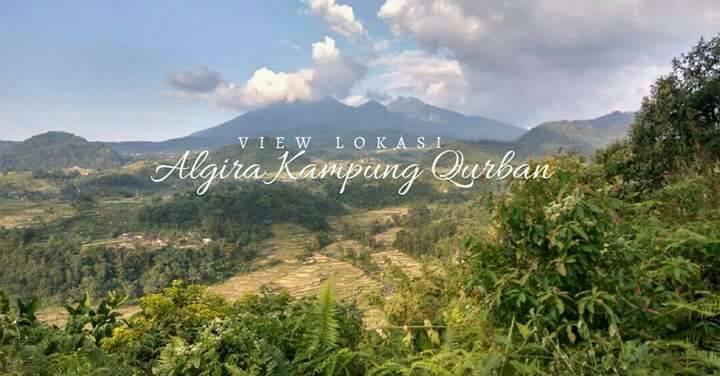 pemandangan kampung qurban bogor