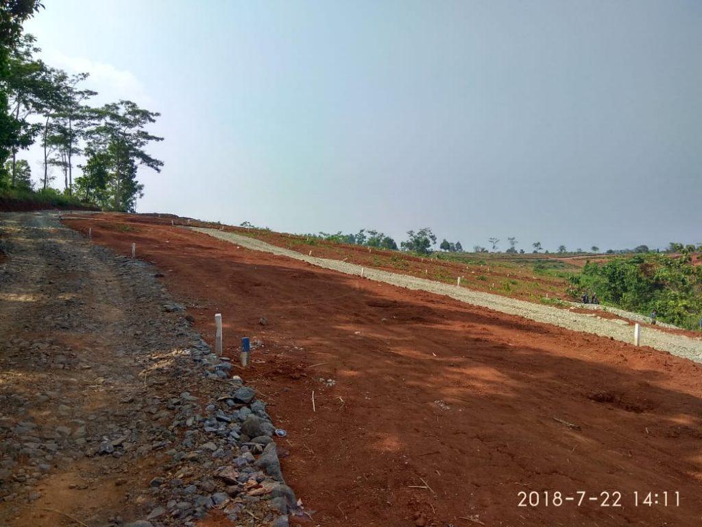 tanah investasi jalan