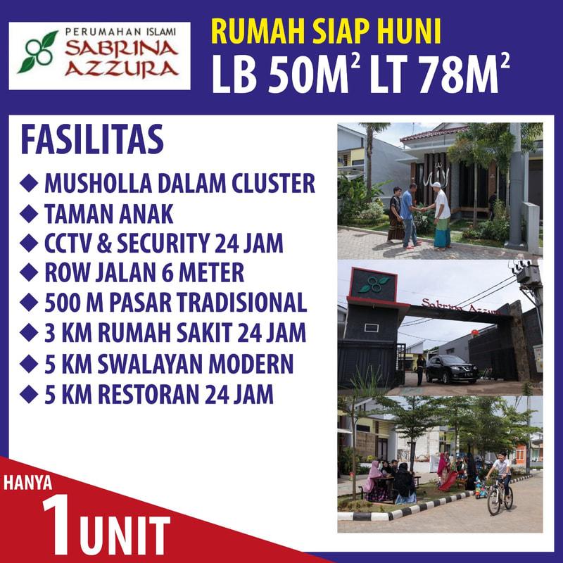 rumah syariah murah bekasi 1