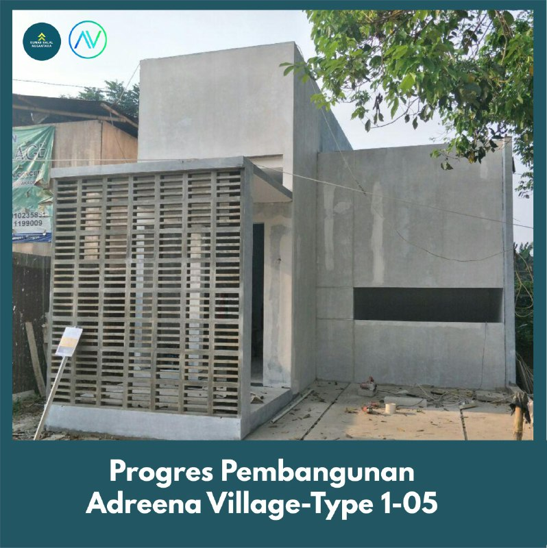 progress pembangunan adreena village