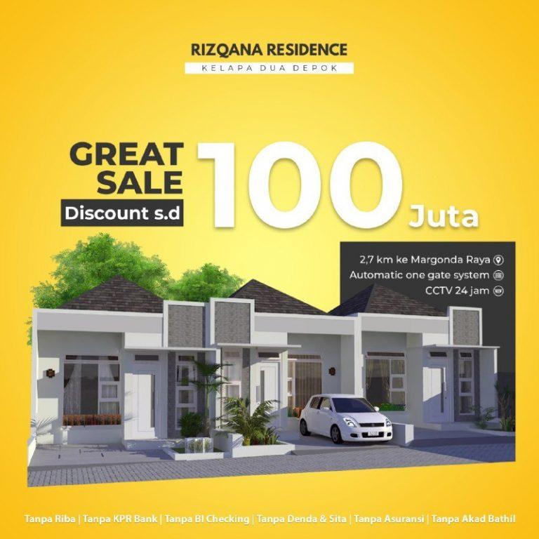 perumahan-syariah-depok-perumahan-syariah-kelapa-dua-rizqana-residence-promo-1-lantai-bulan-Juli-2020