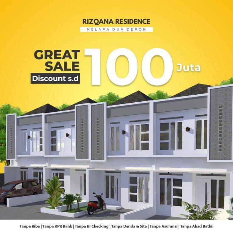 perumahan-syariah-depok-perumahan-syariah-kelapa-dua-rizqana-residence-promo-2-lantai-bulan-Juli-2020