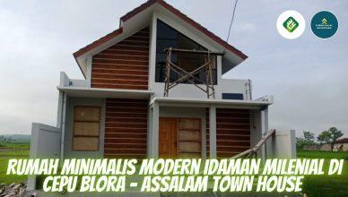Rumah Minimalis Modern Idaman Milenial di Cepu Blora