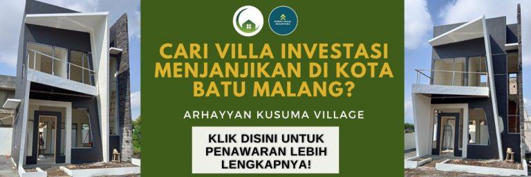 investasi villa batu malang