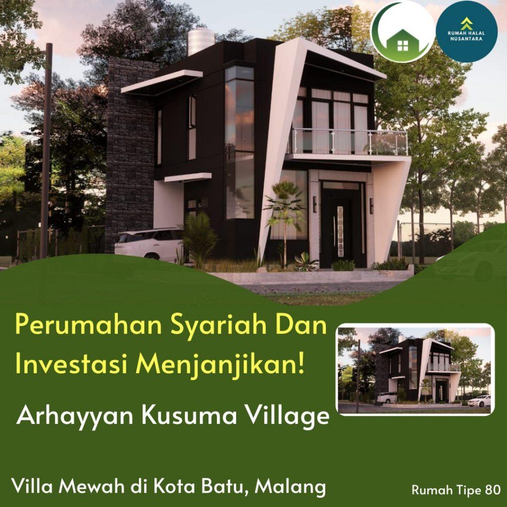 Rumah Syariah di Batu Malang