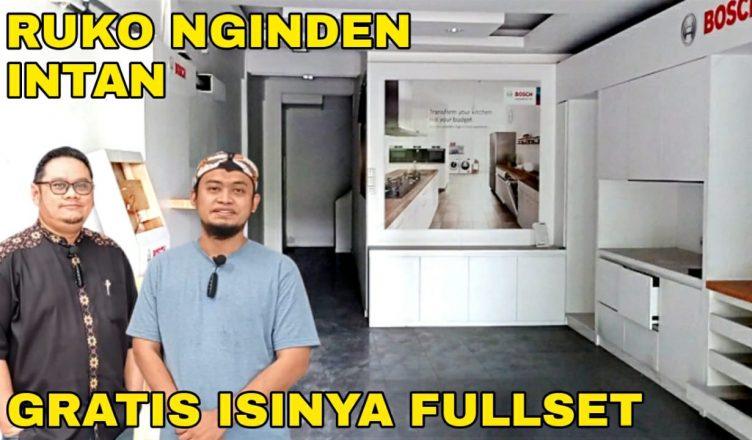 Jual Ruko 3 lantai di Nginden Surabaya
