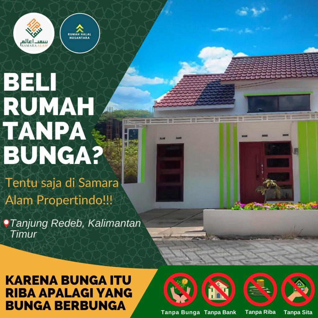 Rumah di Berau Kalimantan