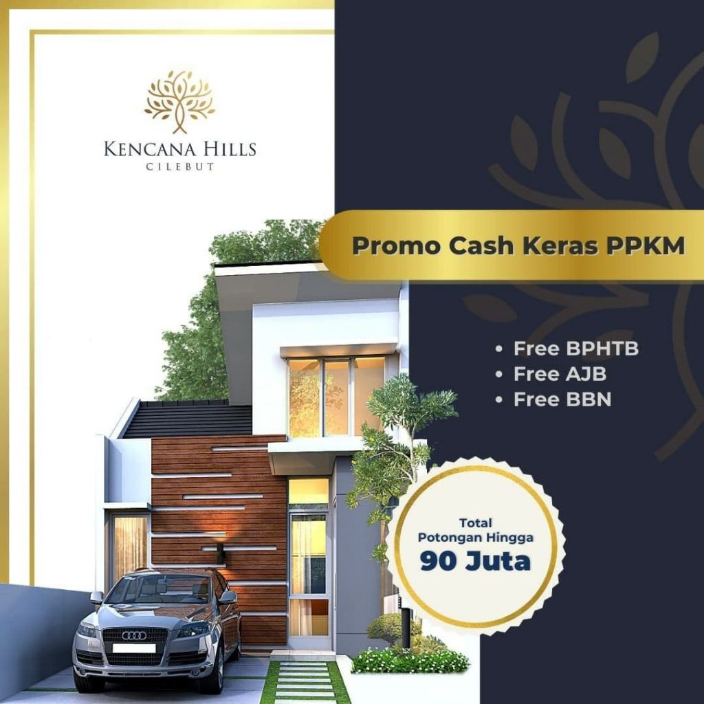 Rumah Syariah Modern Cilebut Bogor – Kencana Hills Cilebut