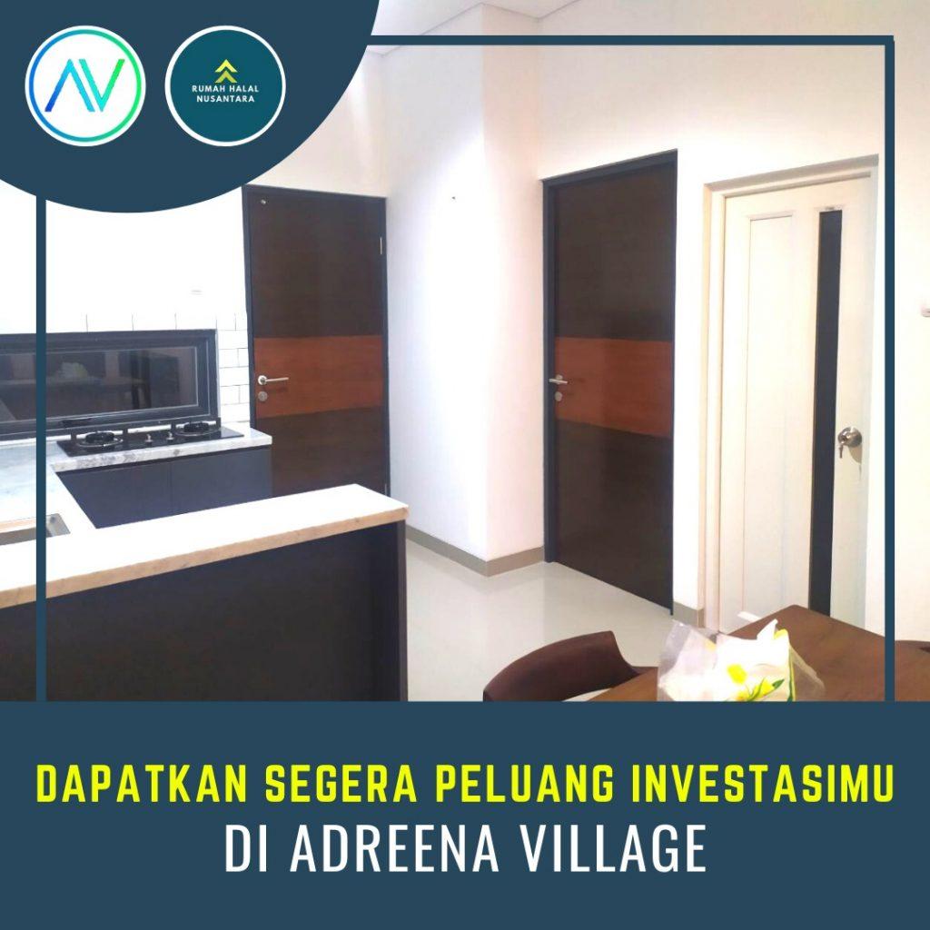 Adreena Villange Cibubur Rumah Mininalis Konsep Resort