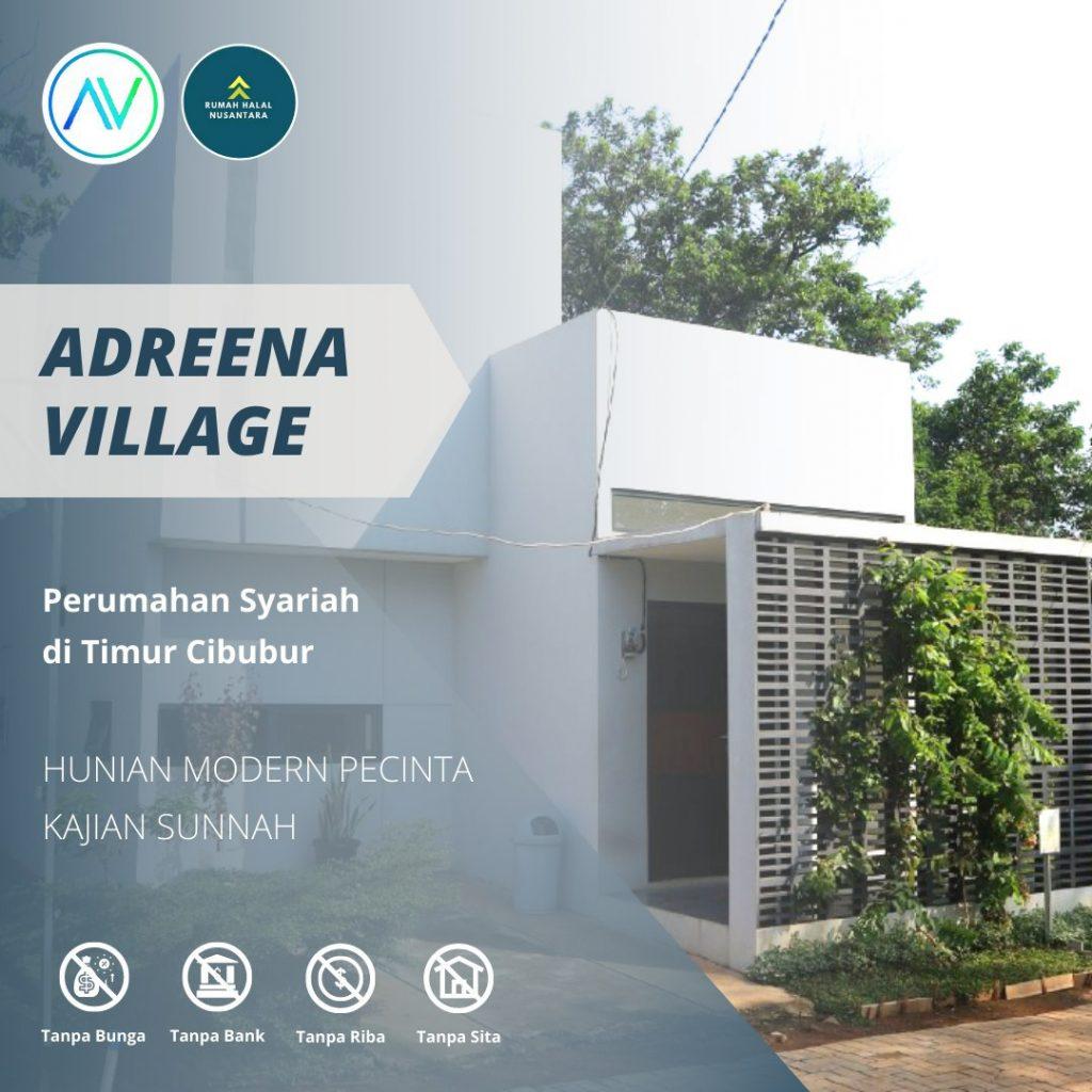 Rumah Minimalis Konsep Resort – Adreena Village Cibubur